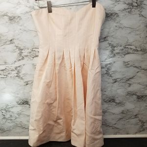 J.Crew Wedding's & Parties Dress Strapless Pink 12